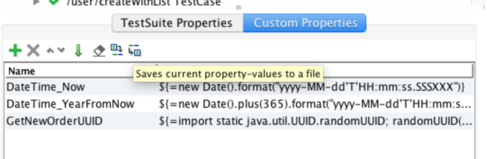 export properties