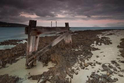 Old Jetty East Coast Tasmania