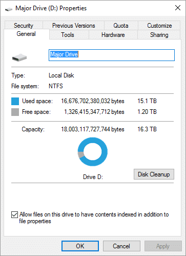 I think I need more hard drive space.