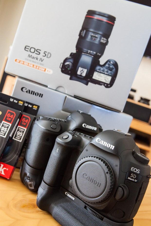 2 Canon 5D IV's with battery grips and 64gig super fast SD Cards