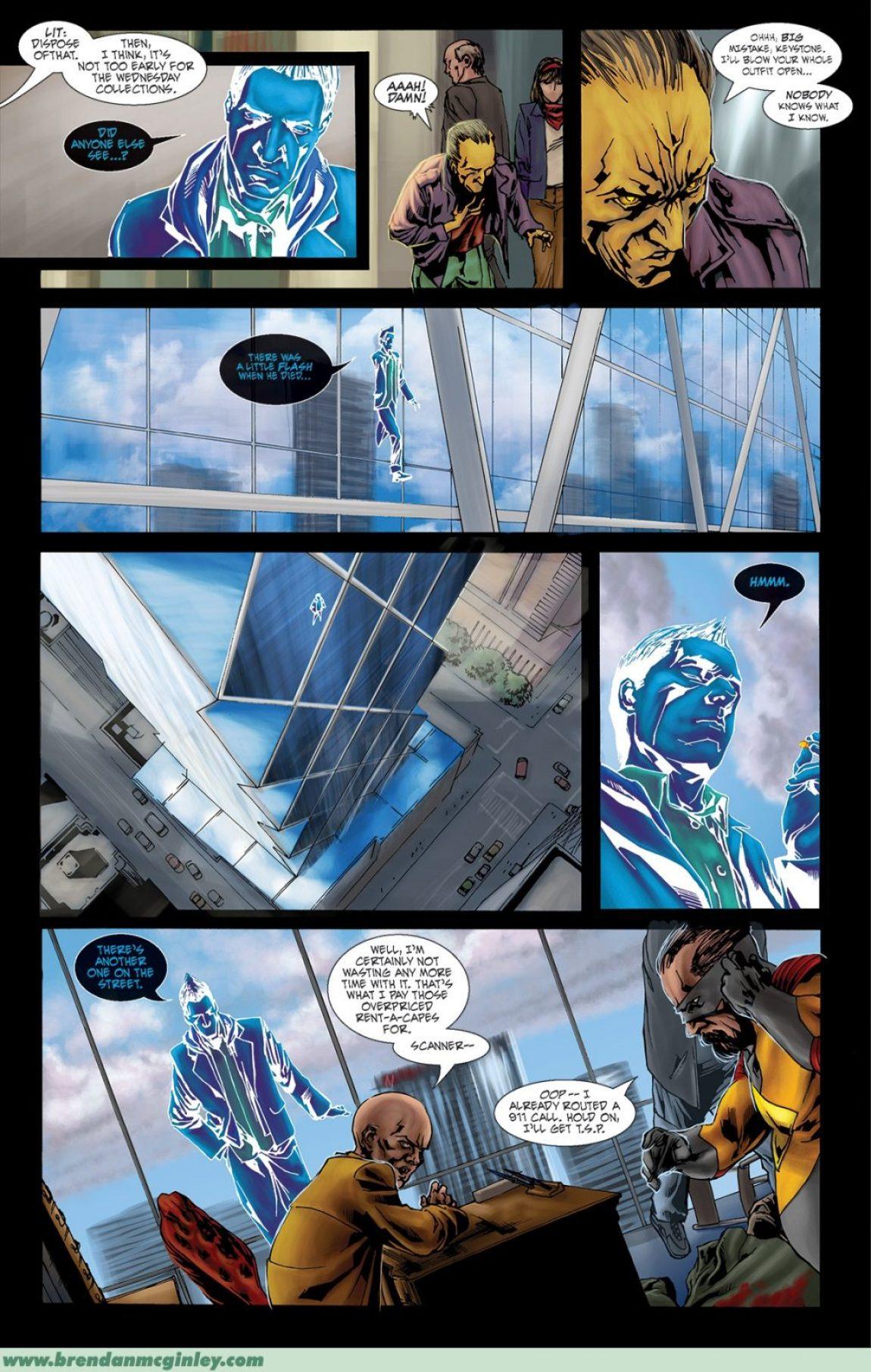 superhero conspiracy INDELIBLE, INC.