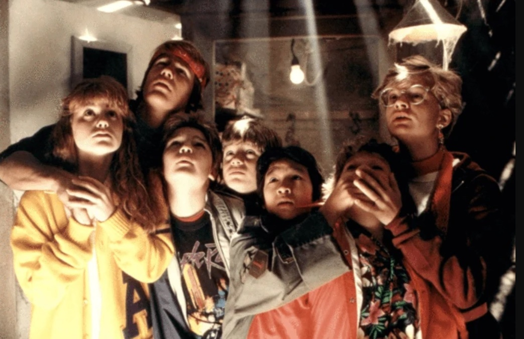 What was the foreclosure threat toThe Goonies