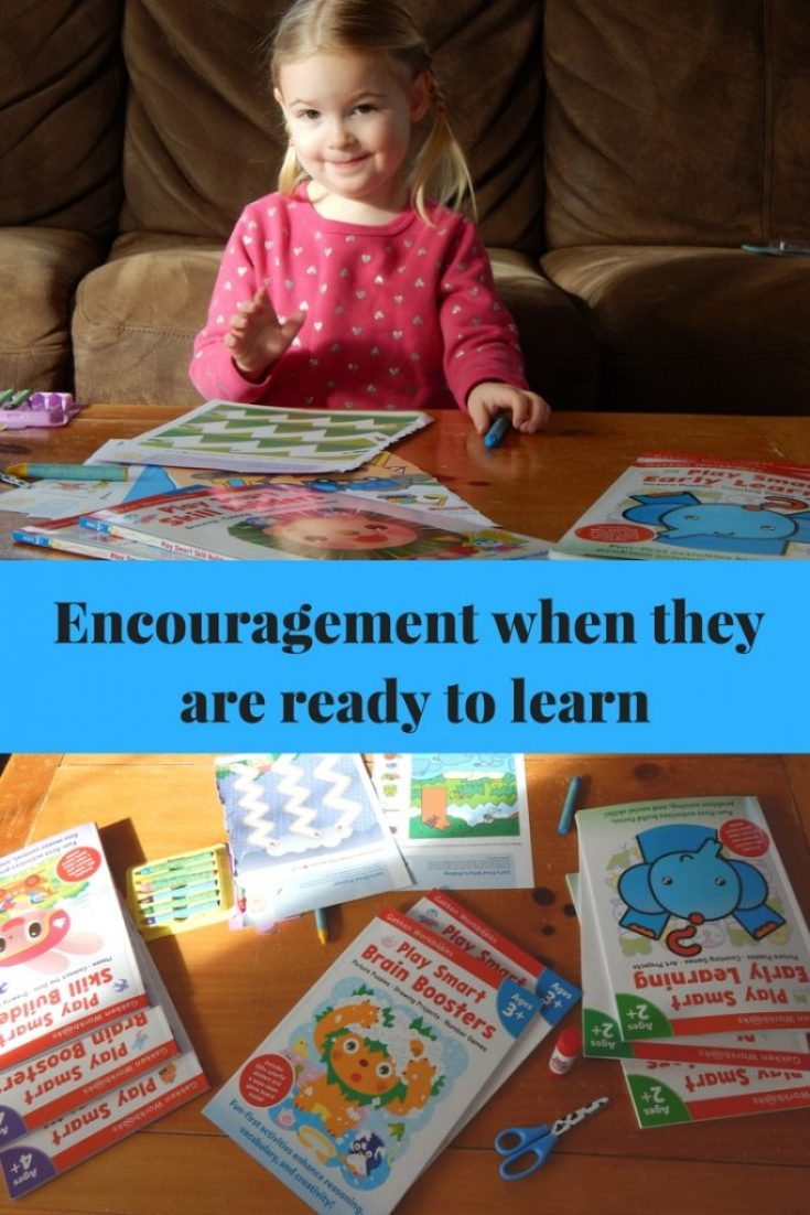 Encourage them when they are ready