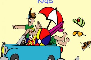 Free download travel games for kids car load of beach toys cartoon with two guys are we there yet?