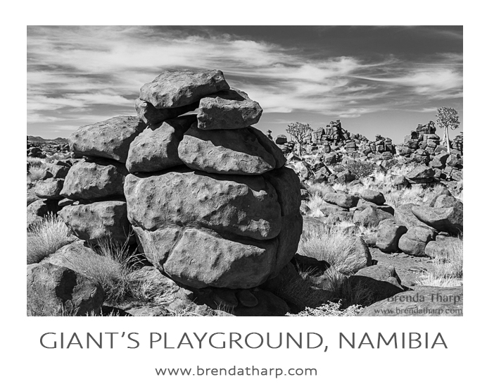 Rockin' around the rocks in Namibia