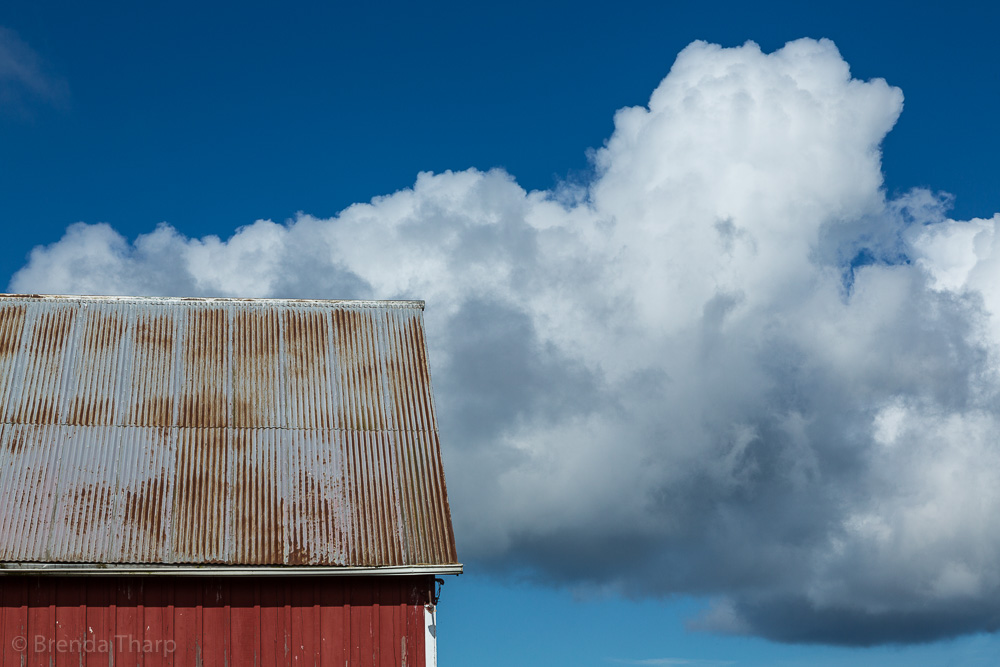 Red, White and Blue – An American Barn Study