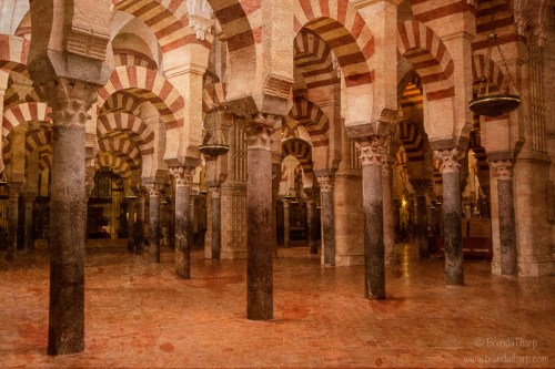 Spain, Andalusia. Cordoba. Mosque.