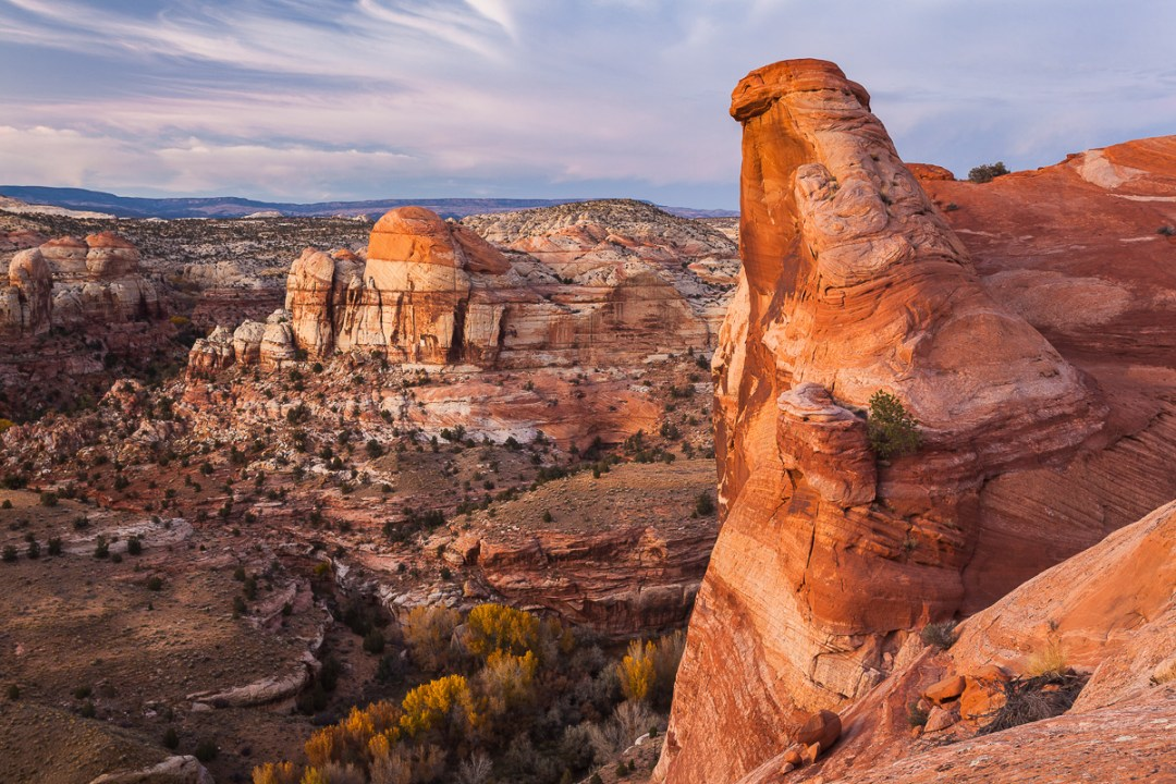 Overview of Escalanted-Grand Staircase National Monument, Utah.