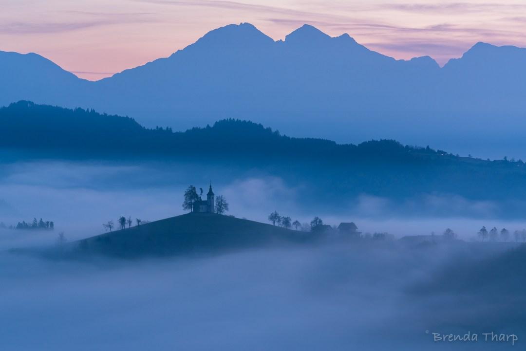 Foggy Dawn in Slovenia