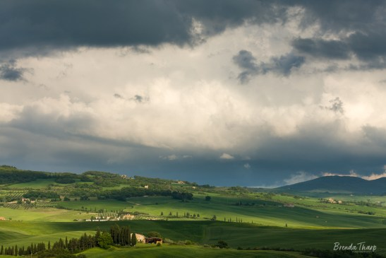 Stormlight in Afternoon, Tuscany.