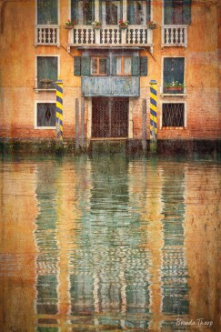 Artistic impression of Venice, Italy.