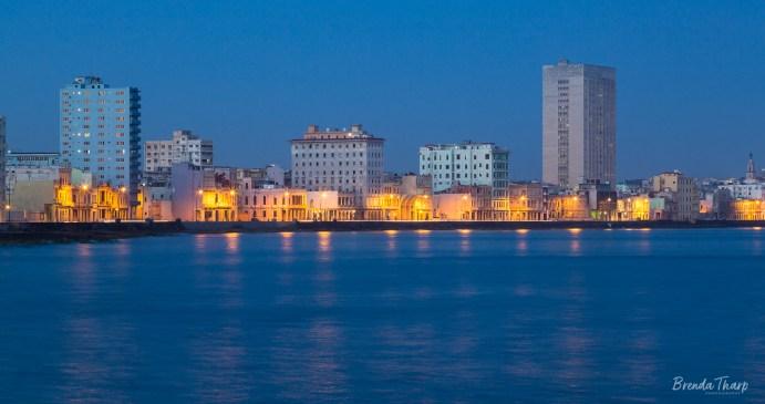 Havana's eastern skyline.