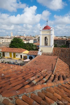 Over the rooftops in Camagüey.