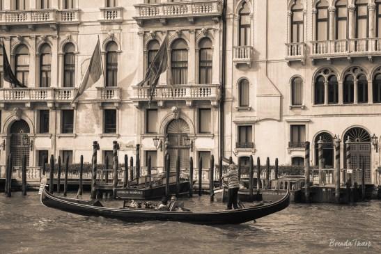 Gondola, Venice.