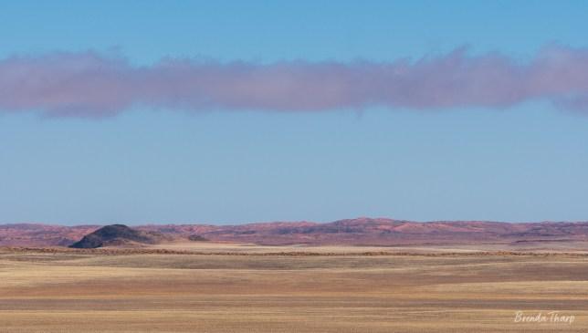 Vast desert landscape, Namibia.