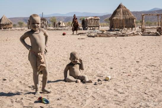 Himba Children, Namibia