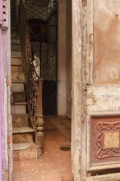 Faded Entryway, Havana.