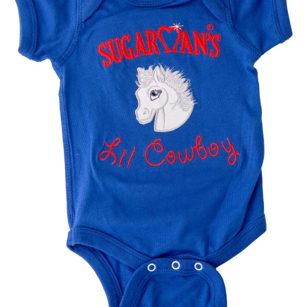 Brenda W. Powell, Sugarman, Sugarman the Pony, adorable outfits for babies, cowgirl onesie for babies, farm theme clothes for children, farm theme clothes for infants and babies, infant clothing, monogram, newborn clothes, unique clothing for babies, unique clothing for children, unique clothing for infants