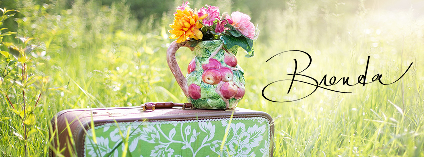 Brenda W. Powell, devotional, blog post, Encouragement for the Journey, flowers, flowr vase, suitcase, field, meadow