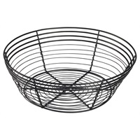 Wire Basket, Round 25.5 x 8cm :: Table Presentation