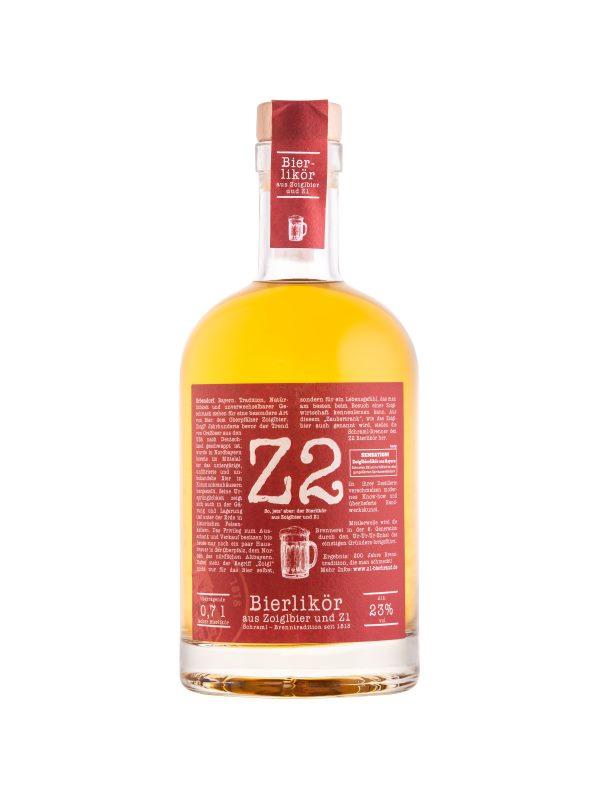 Z2 Bierlikör aus Zoiglbier