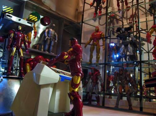Tony Stark Iron Man Armory Diorama