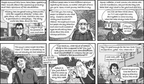 Mountain Xpress May 7 2008 cartoon by Brent brown