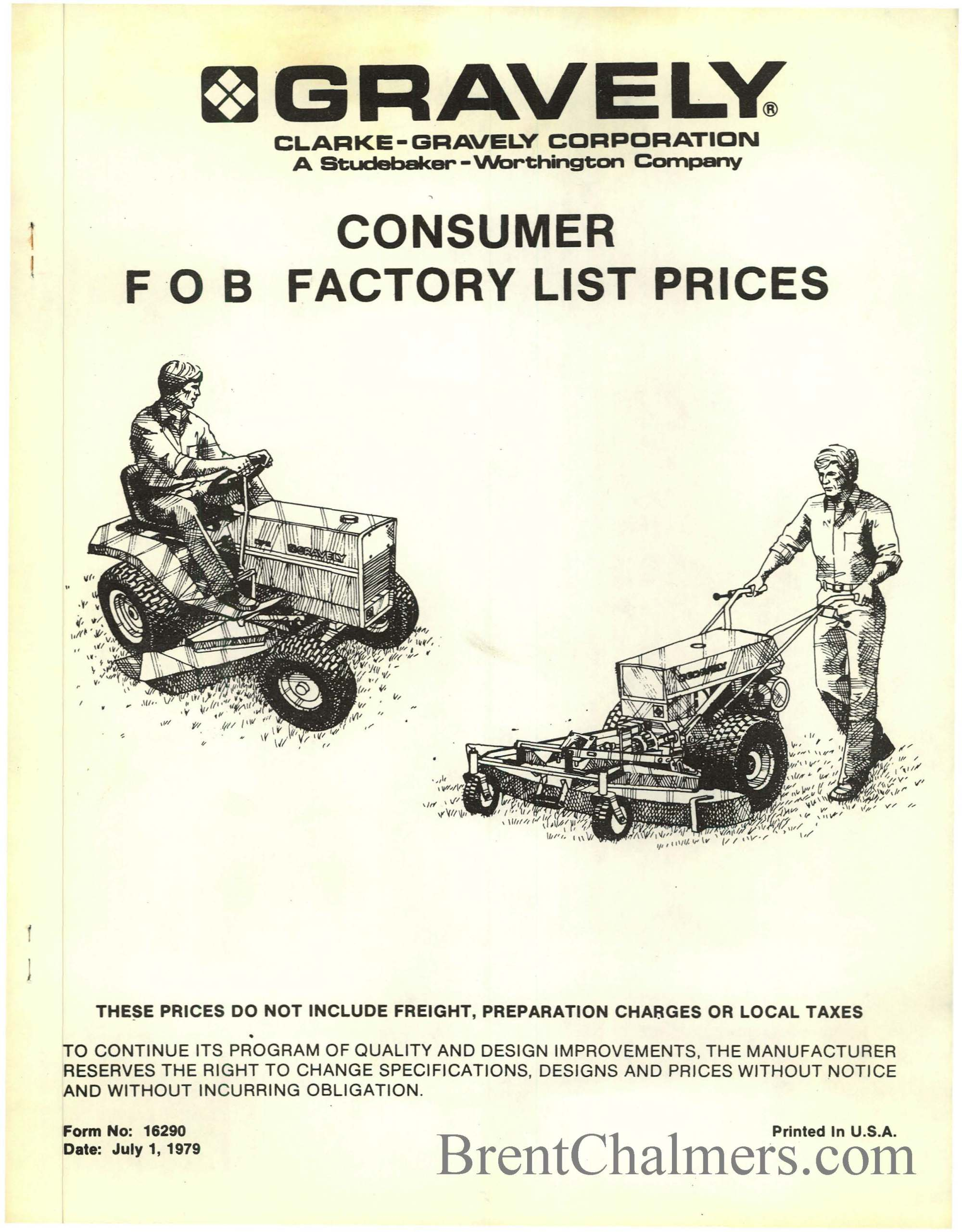hight resolution of gravely tractor brochures and catalog