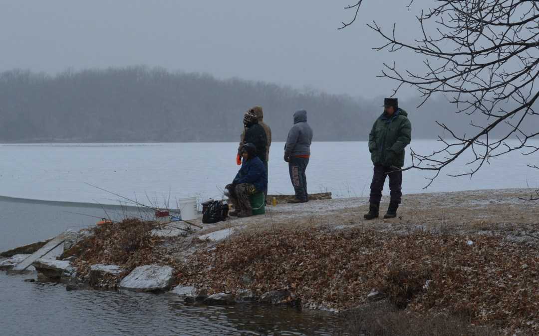 Trout season is a sure sign that spring is on its way in Missouri, Kansas