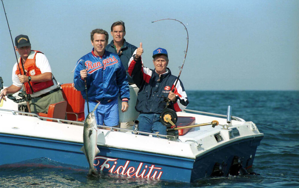 George H.W. Bush will be remembered as a friend to fishermen