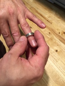 Figuring out your ring size