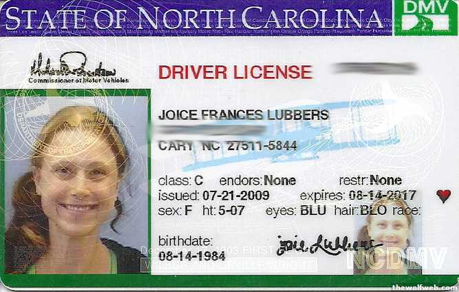 Drivers North License 2013 2013 License Drivers Carolina Carolina North