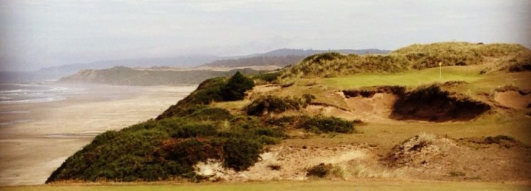 Pacific Dunes golf course in Oregon