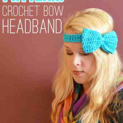 Pattern: Crochet Bow Headband