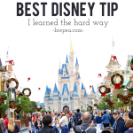 The #1 Best Disney Tip I Learned the Hard Way