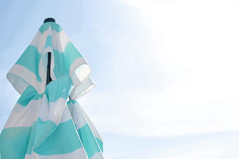 sunshine-umbrella-blue-sky