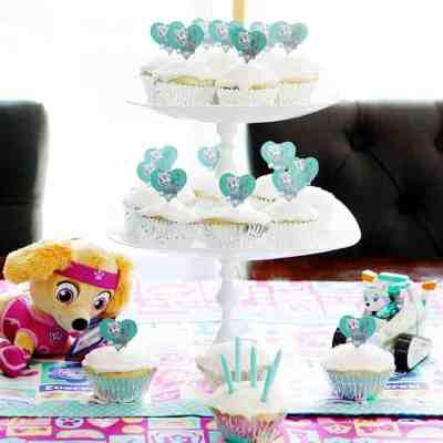 Girly Paw Patrol Theme Kid's Birthday Party
