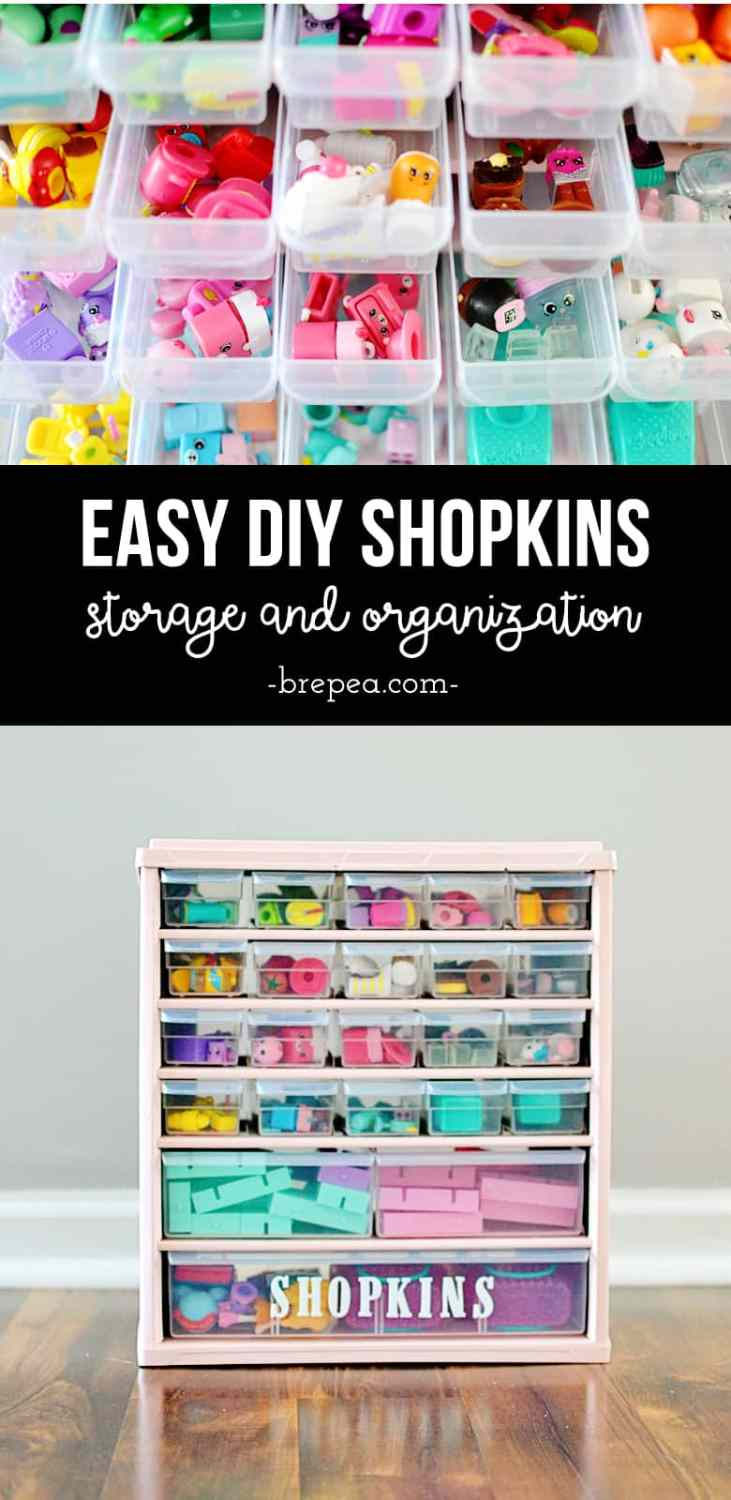 This DIY solution for organized Shopkins storage is so easy!