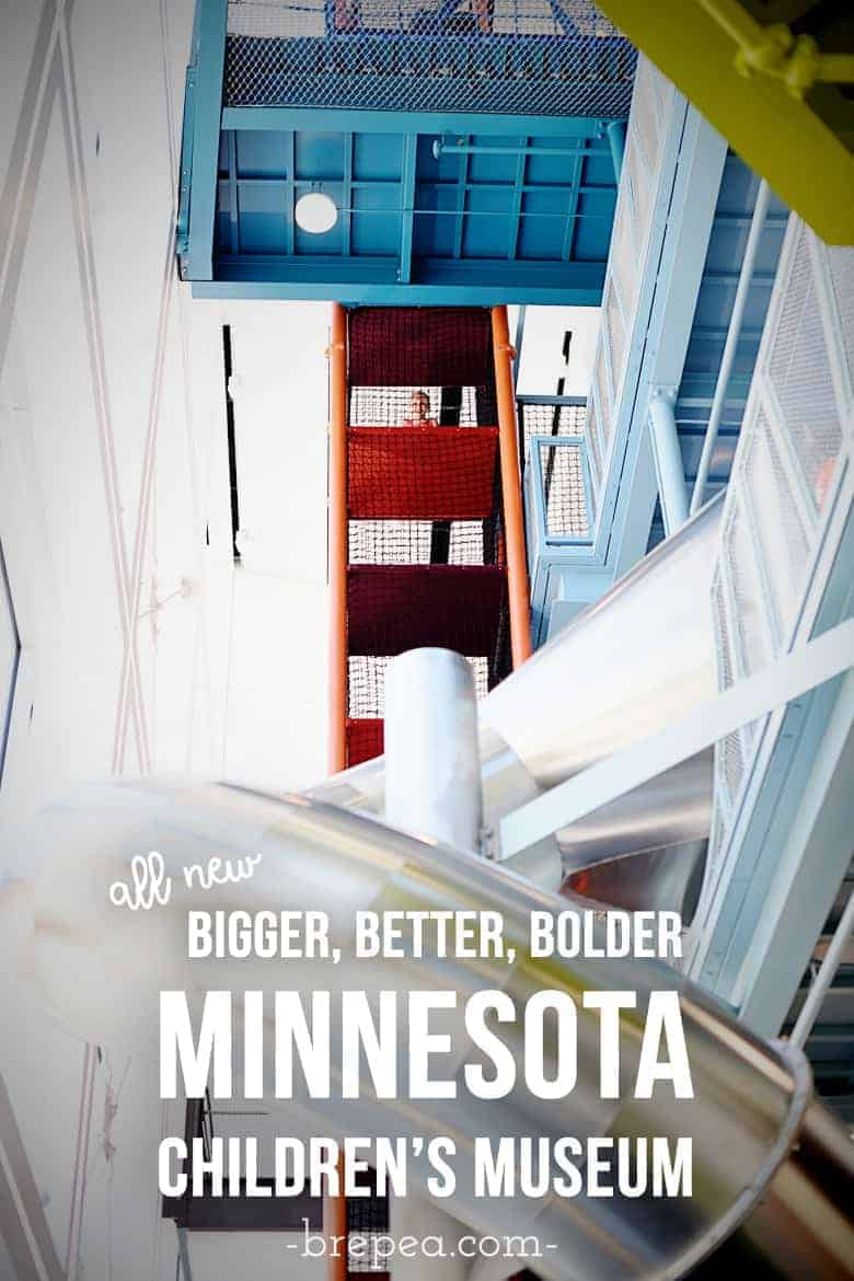 The all-new bigger, better, bolder Minnesota Children's Museum in St. Paul is now open. Check out the new exhibits including a 4-story climbing structure and slides: The Scramble.