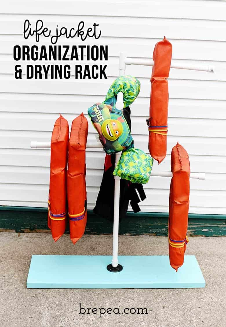 This Is Such A Great Life Jacket Organization Idea Diy Rack