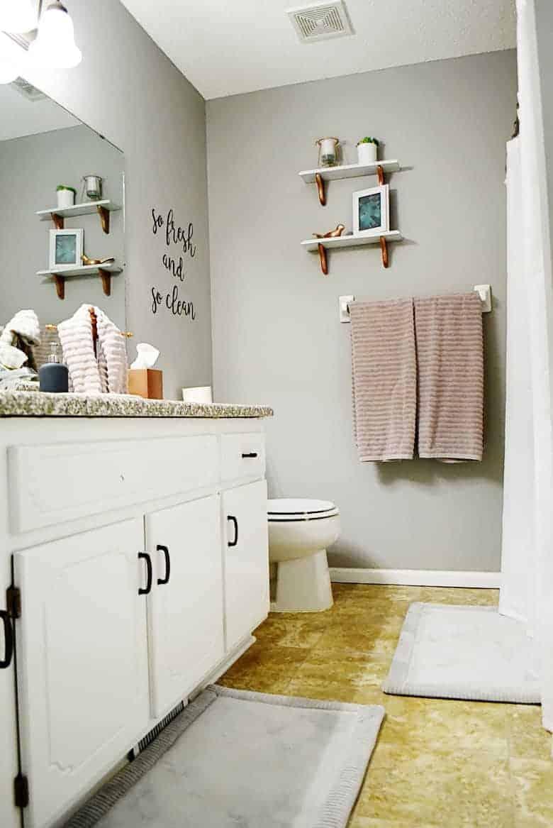 Thrift Store Shelf Makeover Tutorial | Bre Pea