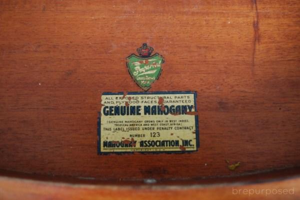 Genuine Mahogany Table