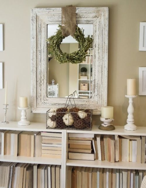 25 No Mantel Fall Decor Ideas Brepurposed