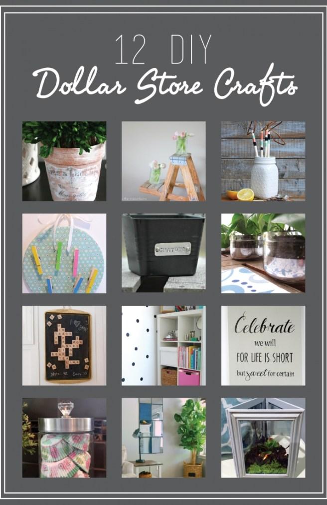 12 DIY Dollar Store Crafts