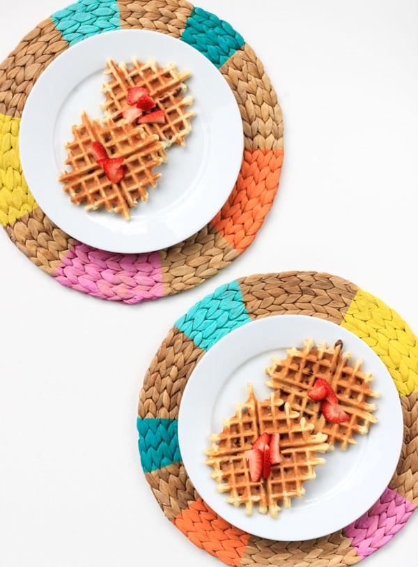 DIY Pinwheel Placemats