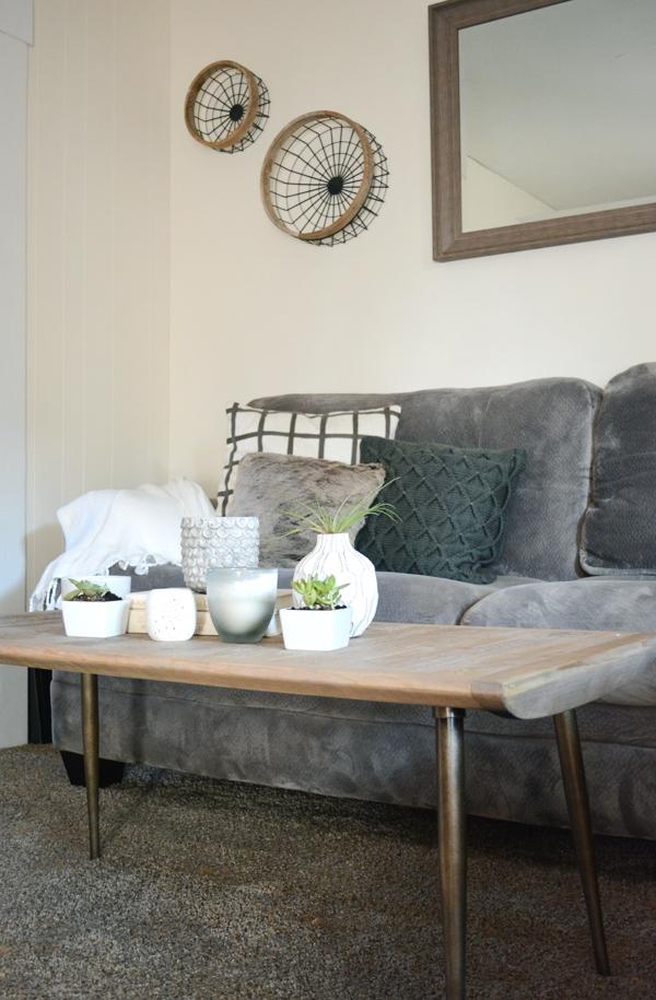 Cozy Modern Industrial Living Room