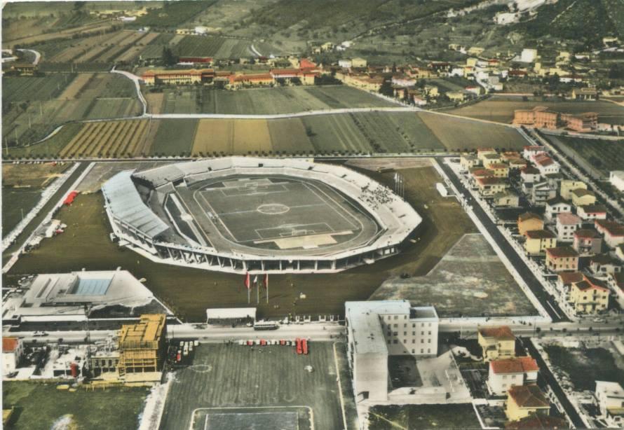 Il nuovo stadio comunale Mario Rigamonti  Brescia 1962