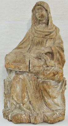 Dorfkirche Demen, Pietà-Skulptur aus Holz