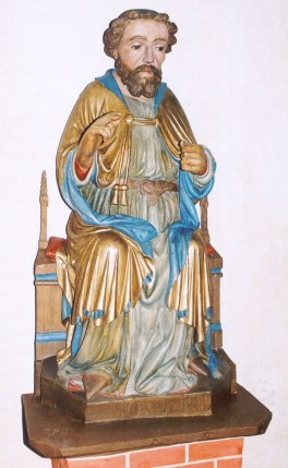 Tempzin, Antoniusfigur nach der Restaurierung