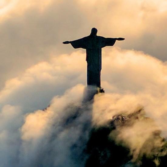 Le Christ Redompteur à Rio de Janeiro - Corcovado